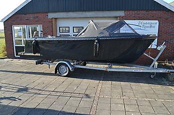 SETAANBIEDING Oldambtsloep 570 Tender + Suzuki DF15 - Watersport Reinders Beerta